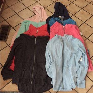 Lot of 8 Gap hoodies